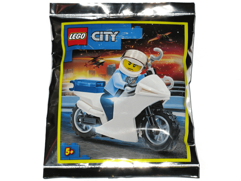 Policeman and Motorcycle foil pack #2