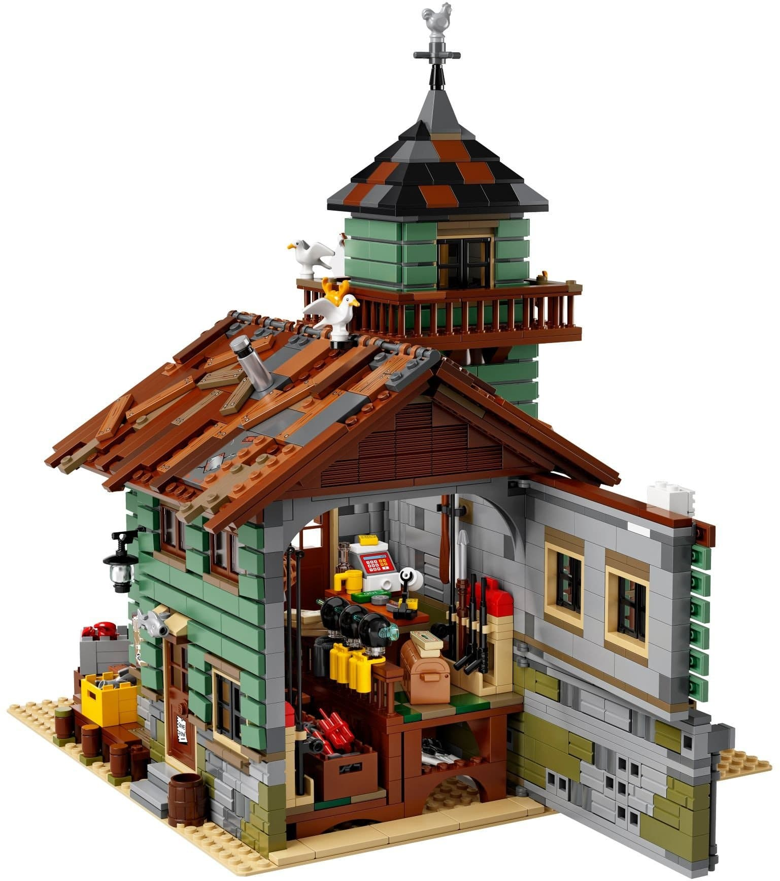 לגו 21310 Lego - בקתת דייג freeshipping - TheBrick.co.il