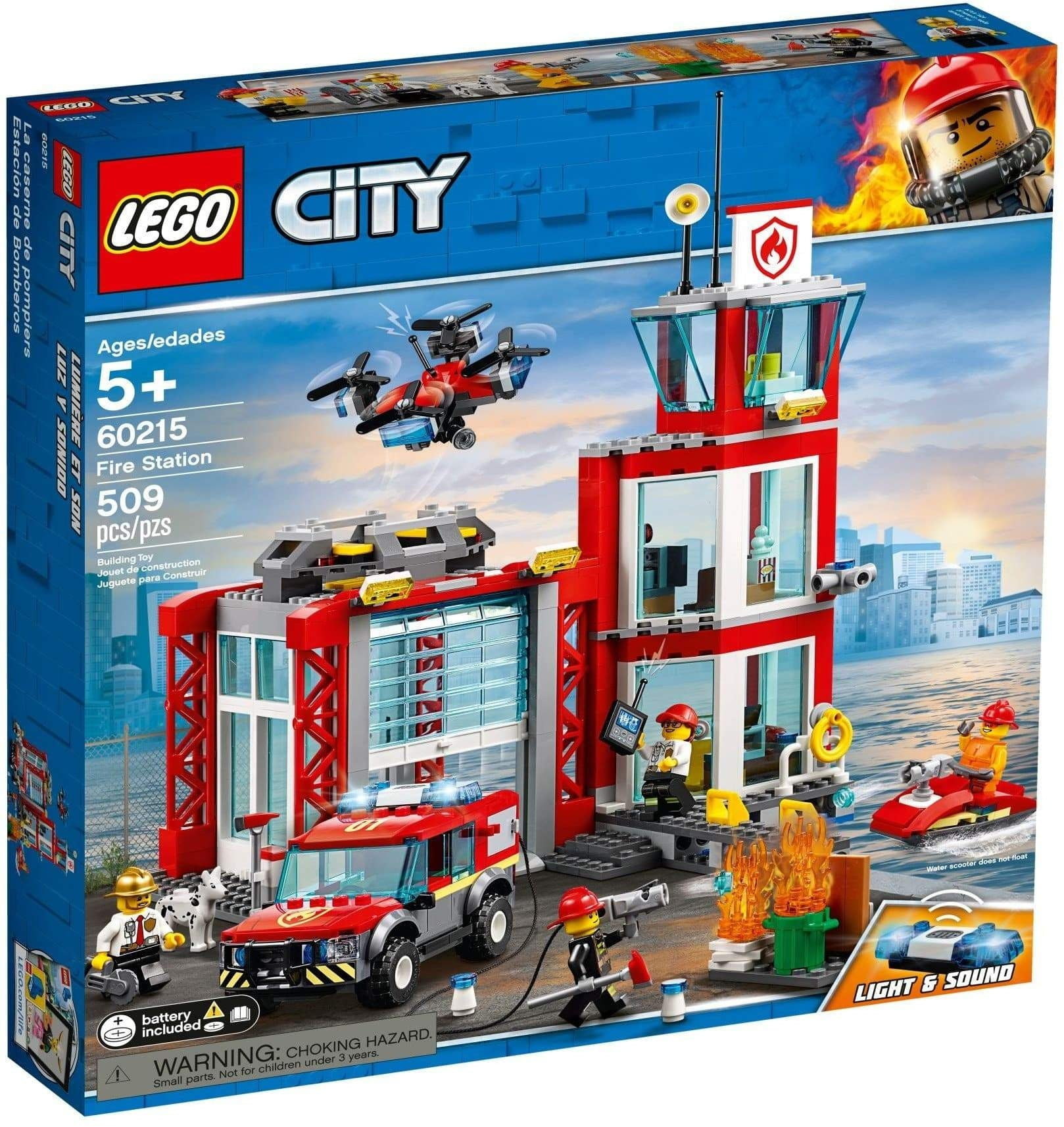 Lego לגו - 60215 - Fire Station - TheBrick.co.il