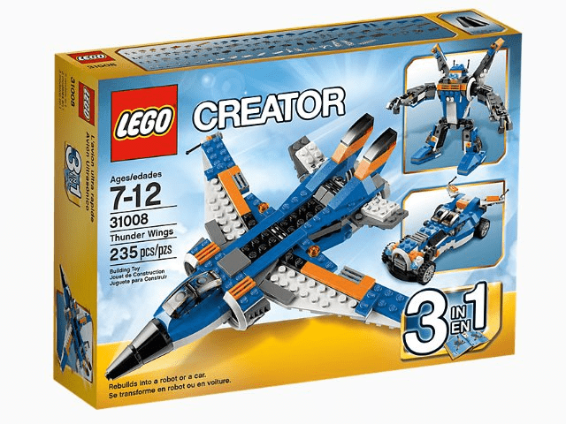 Lego לגו - 31008 - Thunder Wings freeshipping - TheBrick.co.il