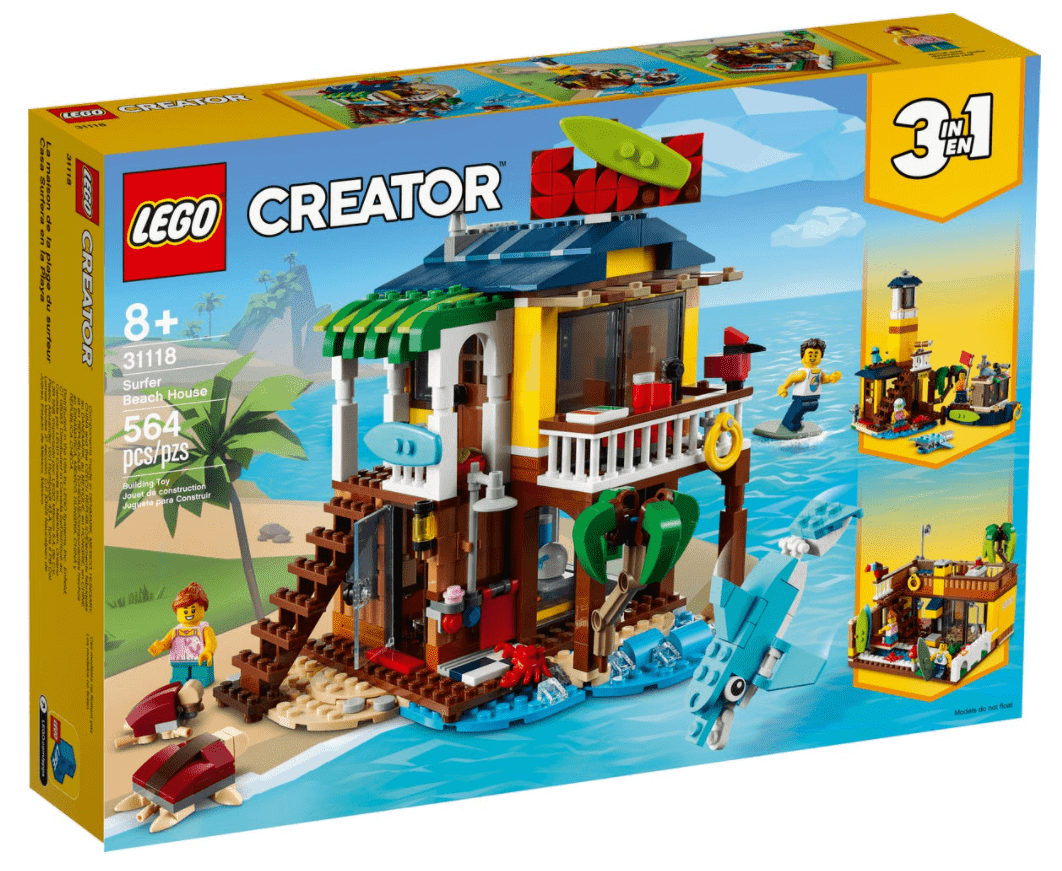 Lego 31118 - Surfer Beach House