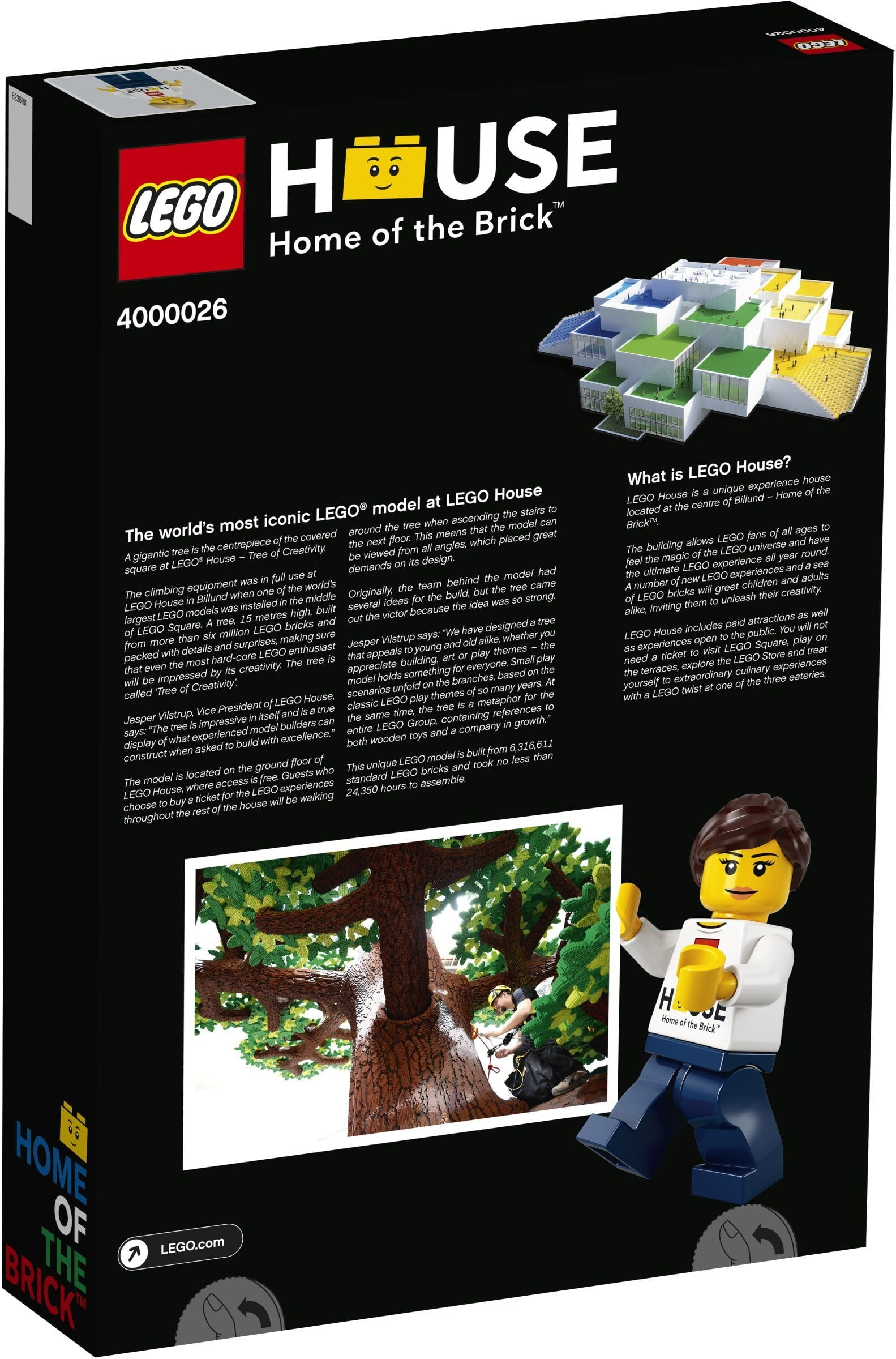 Lego לגו -  4000026 - House Tree of Creativity