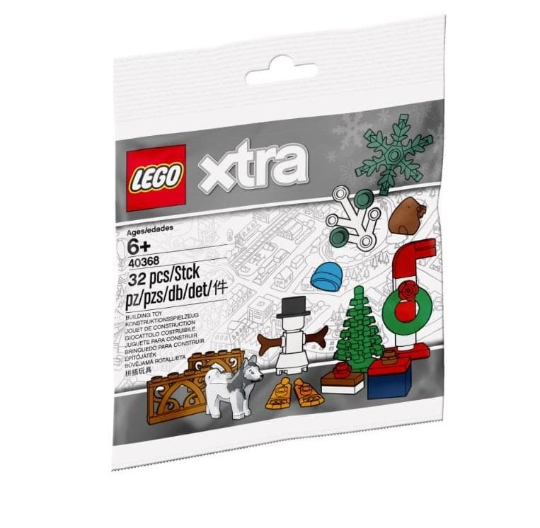 Lego 40368 - christmas accessories