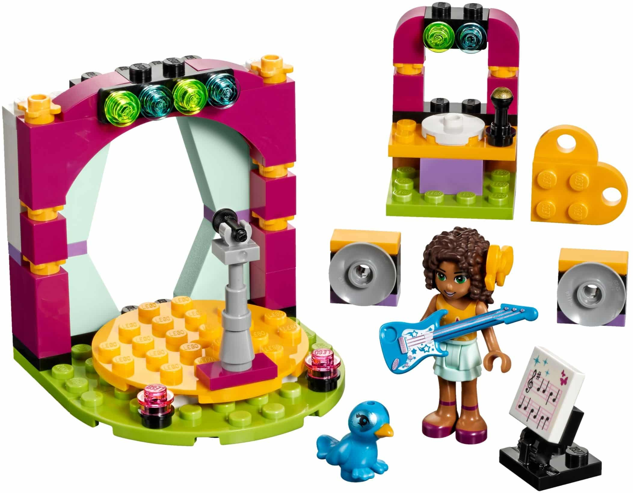 Lego - פרינדס Friends - 41309 - Andrea's Musical Duet freeshipping - TheBrick.co.il