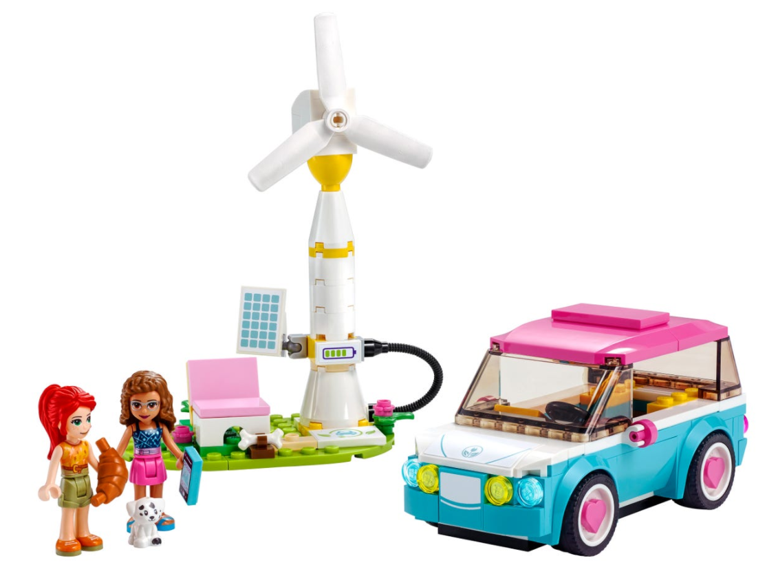 Lego 41443 - Olivia's Electric Car freeshipping - TheBrick.co.il