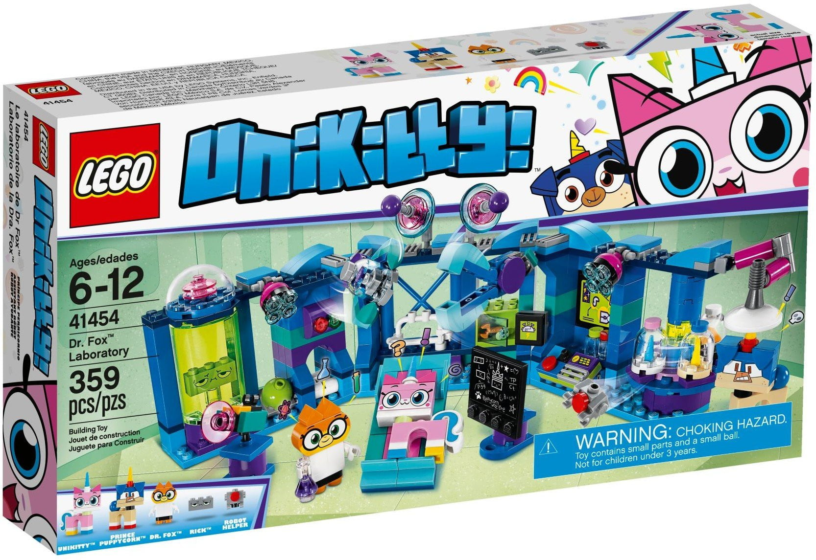 Lego - UniKitty יוניקיטי - 41454 - Dr. Fox Laboratory - TheBrick.co.il