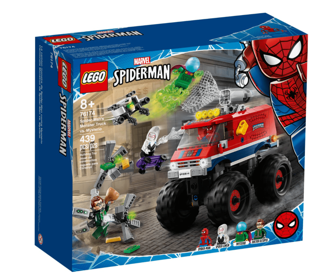 Lego 76174 - Spider-Man's Monster Truck vs. Mysterio freeshipping - TheBrick.co.il