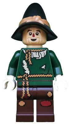 Lego לגו -  tlm165 - Scarecrow - Minifigure only Entry