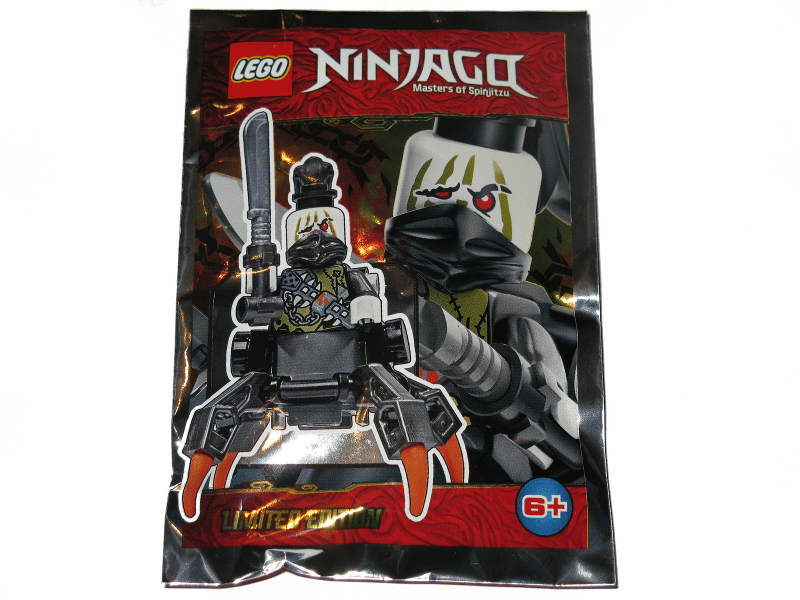 Daddy No Legs foil pack - thebrickdev