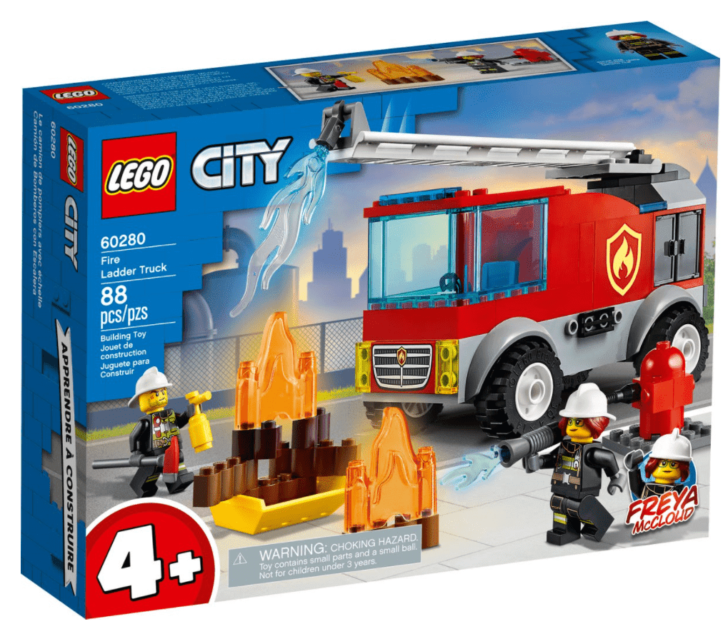 Lego 60280 - Fire Ladder Truck freeshipping - TheBrick.co.il