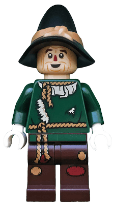 Lego לגו -  tlm165 - Scarecrow - Minifigure only Entry freeshipping - TheBrick.co.il
