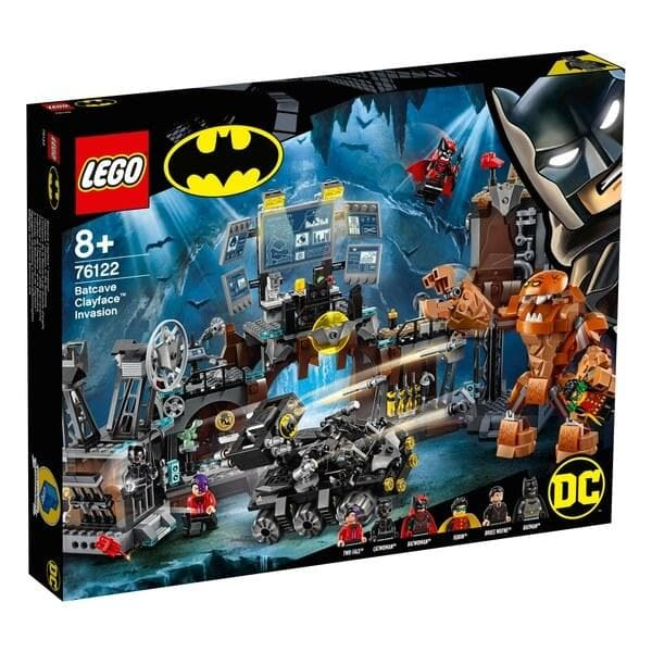 לגו 76122 LEGO - Batcave Clayface Invasion