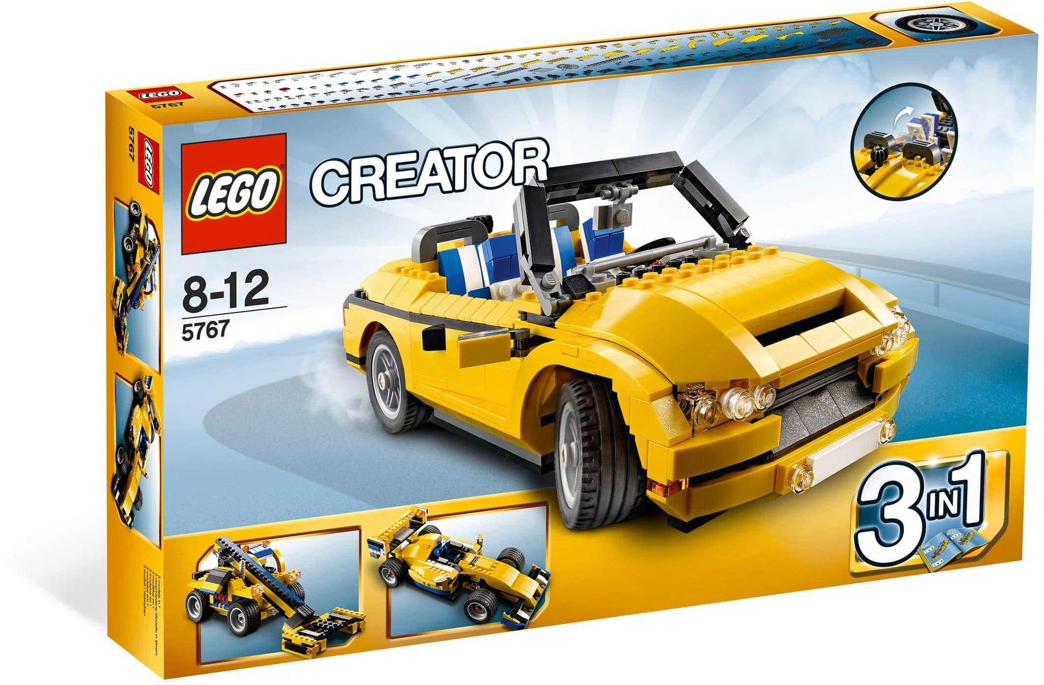 Lego לגו - 5767 - Cool Cruiser freeshipping - TheBrick.co.il