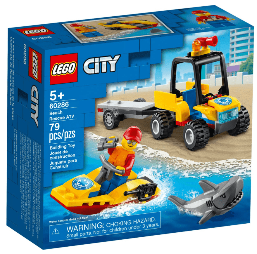 Lego 60286 - Beach Rescue ATV freeshipping - TheBrick.co.il