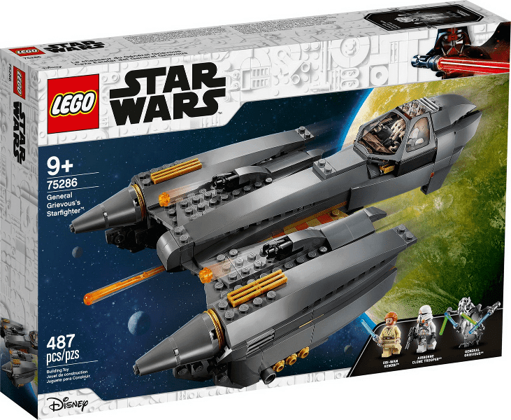 Lego לגו -  75286 - General Grievous's Starfighter