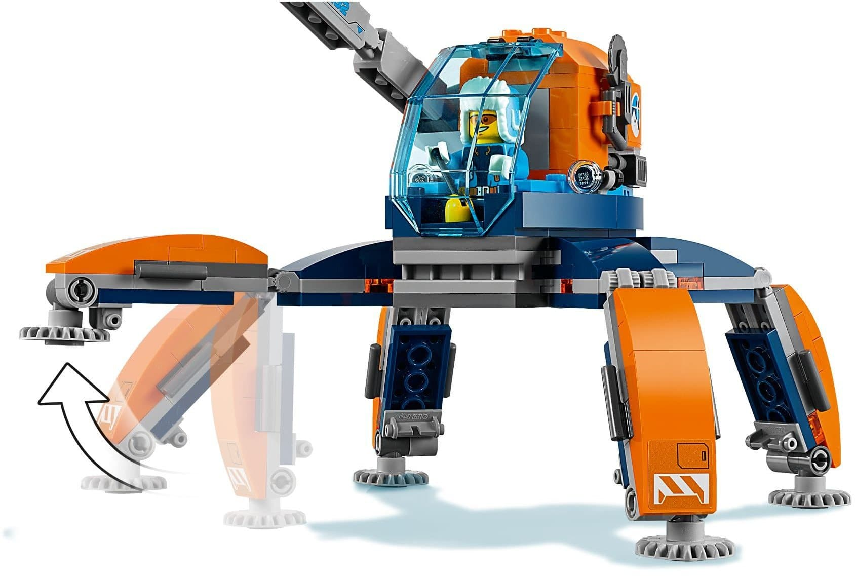 Lego לגו - 60192 - Arctic Ice Crawler