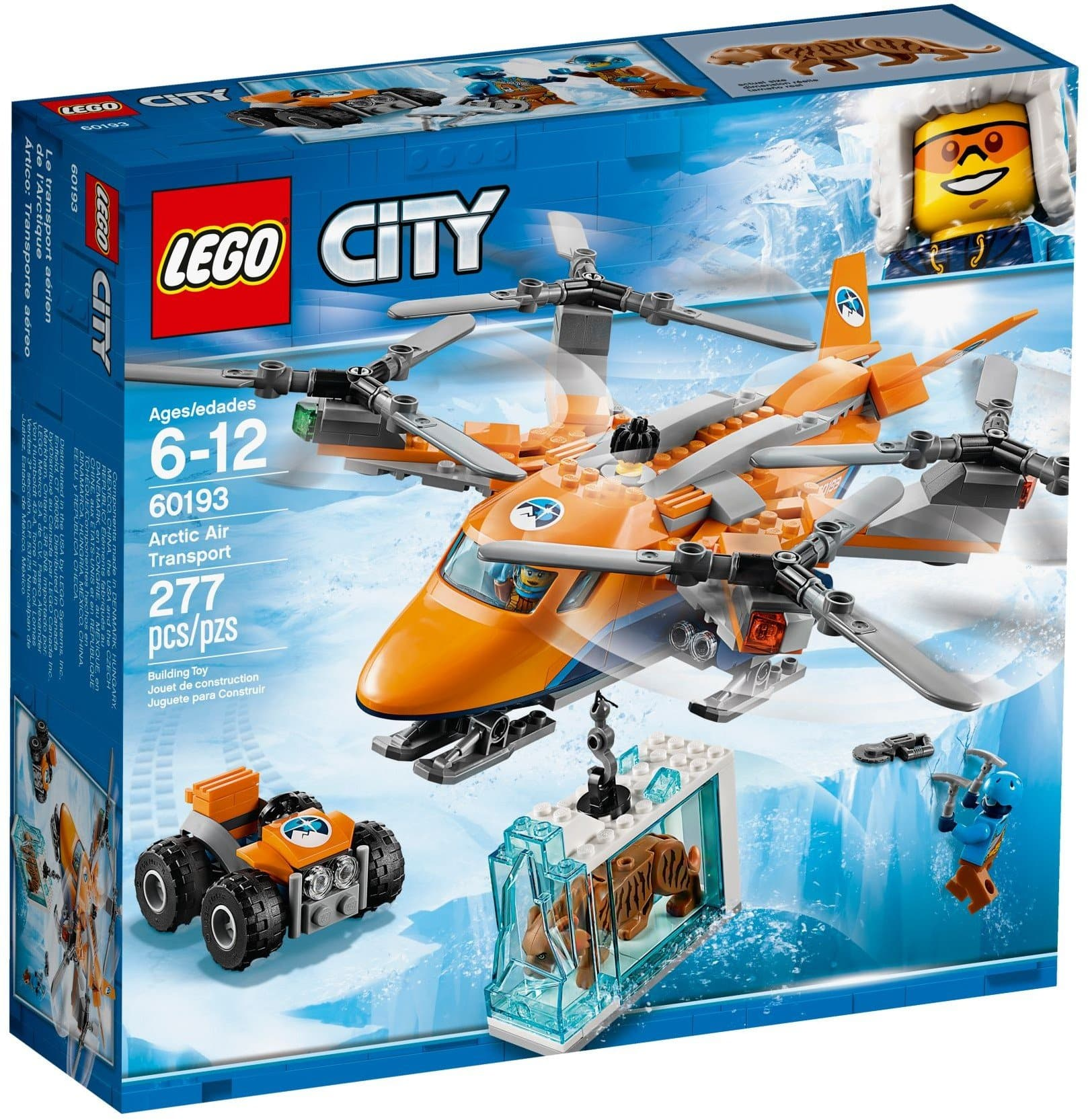 Lego לגו - 60193 - Arctic Air Transport