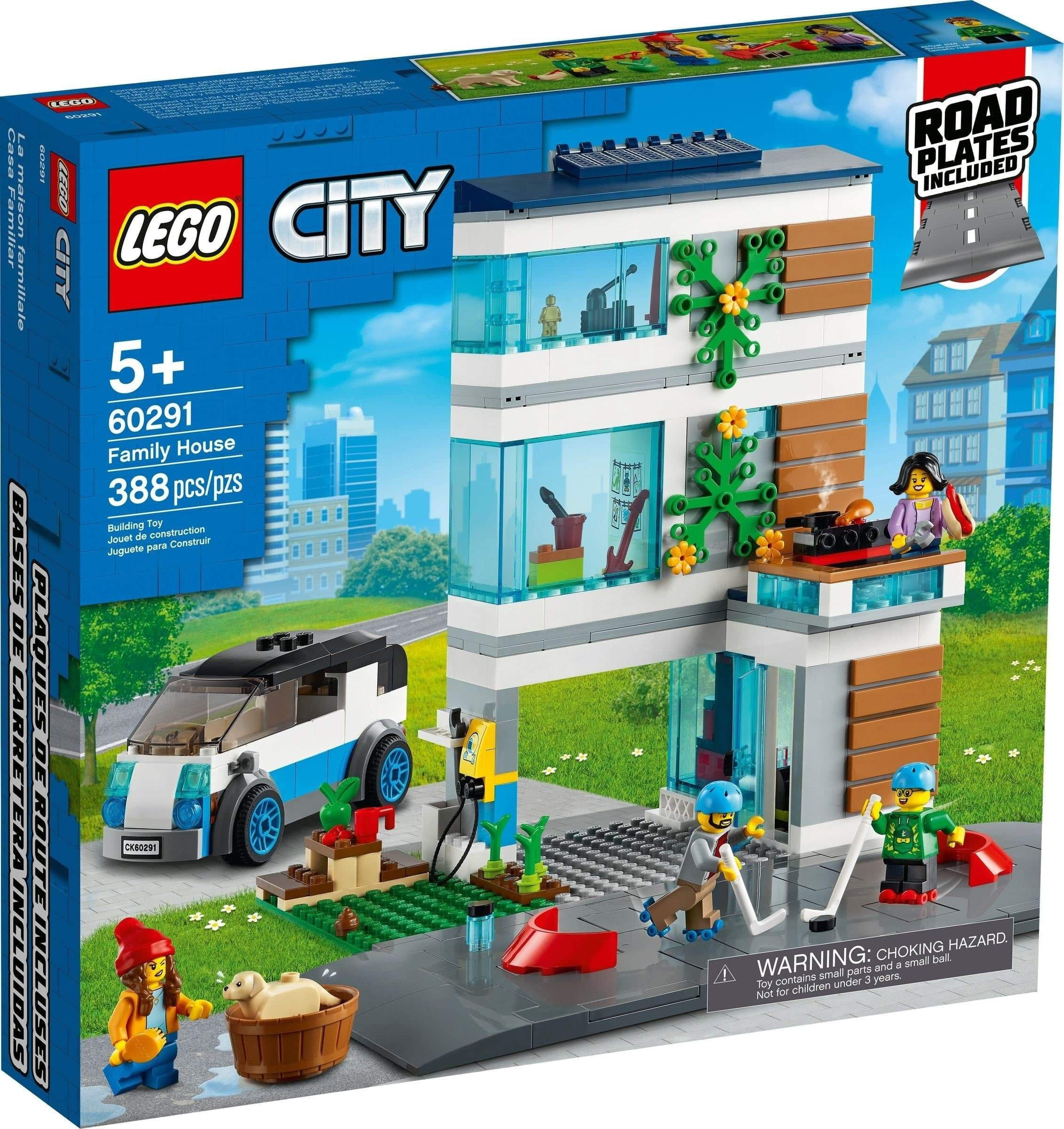 Lego 60291 - Family House freeshipping - TheBrick.co.il