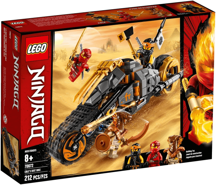 Lego לגו - 70672 - Cole's Dirt Bike freeshipping - TheBrick.co.il