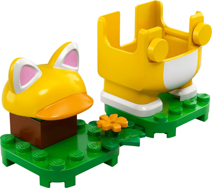 Lego לגו -  71372 - Cat Mario - Power-Up Pack
