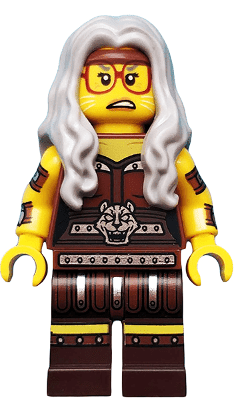 Lego לגו -  tlm153 - Sherry Scratchen-Post - Minifigure only Entry