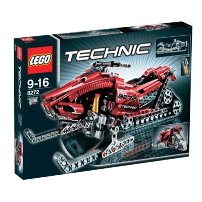 Lego - לגו טכני Technic - 8272 - Snowmobile freeshipping - TheBrick.co.il