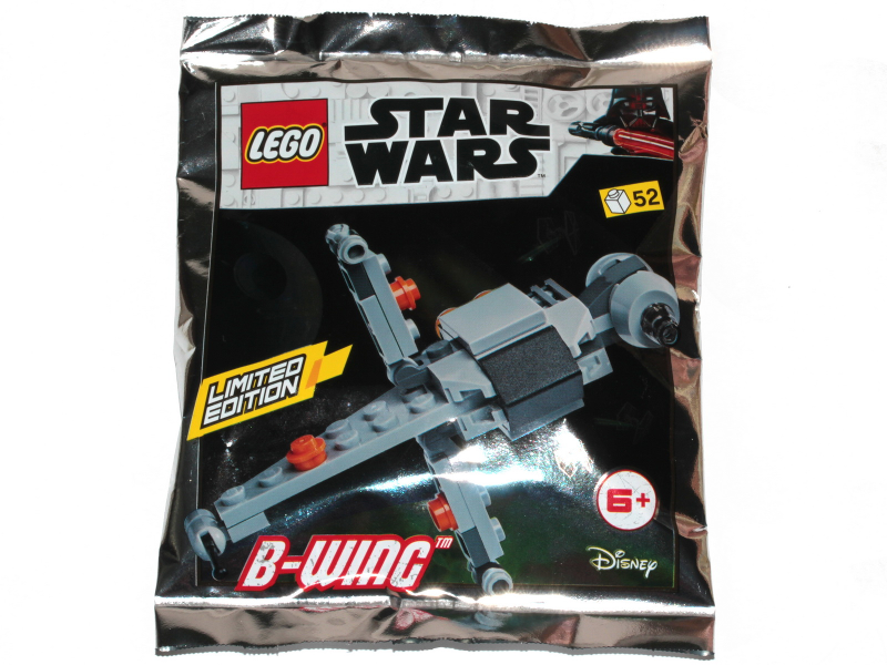 B-wing - Mini foil pack - thebrickdev