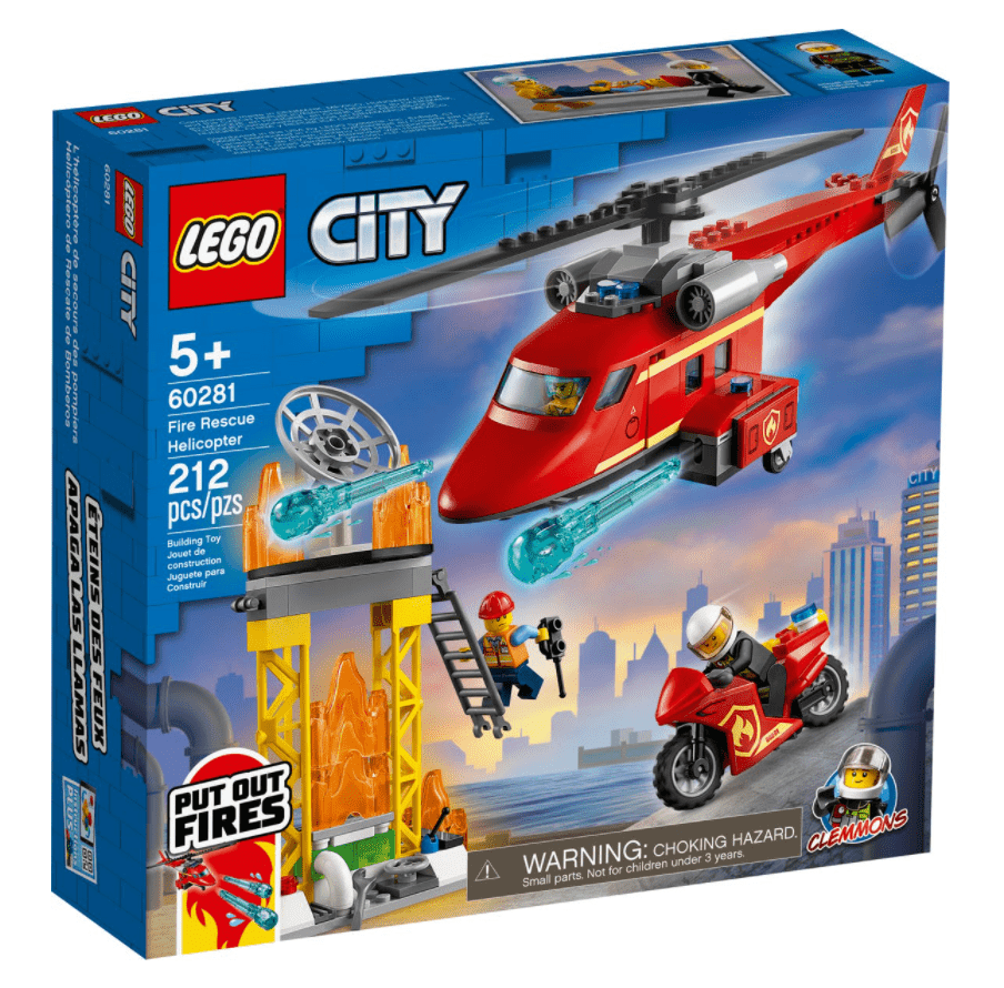 Lego 60281 - Fire Rescue Helicopter freeshipping - TheBrick.co.il
