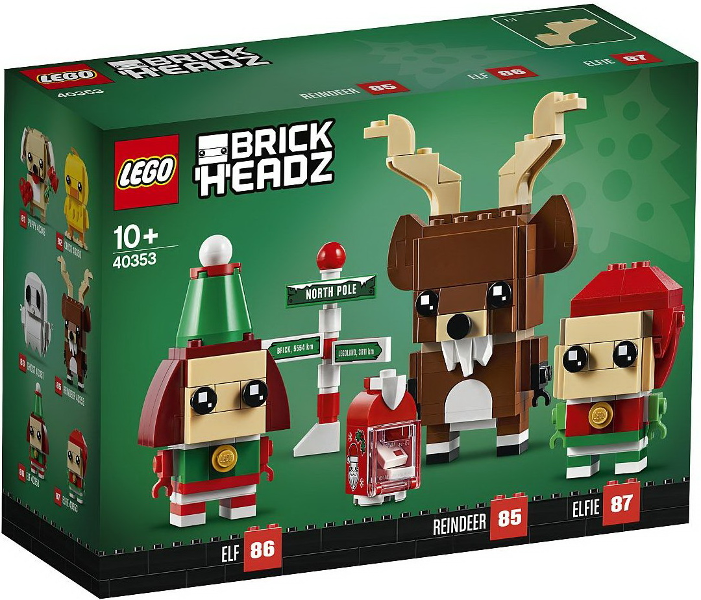 Lego לגו - 40353 - Reindeer, Elf, and Elfie freeshipping - TheBrick.co.il