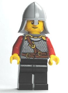 Kingdoms - Lion Knight Scale Mail with Chest Strap and Belt