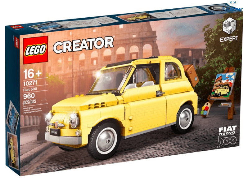 Lego 10271- Fiat 500 freeshipping - TheBrick.co.il