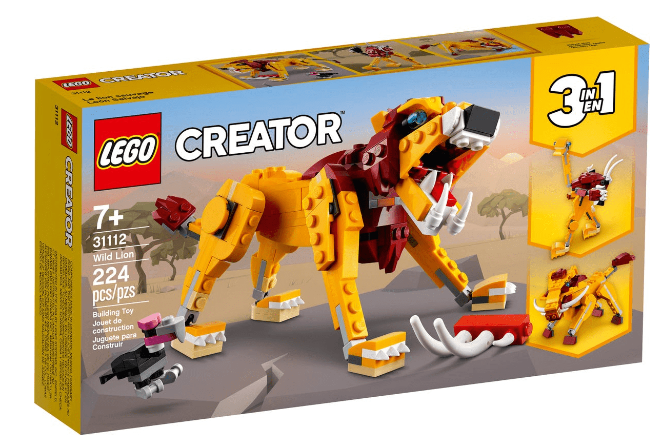 Lego 31112 - Wild Lion freeshipping - TheBrick.co.il