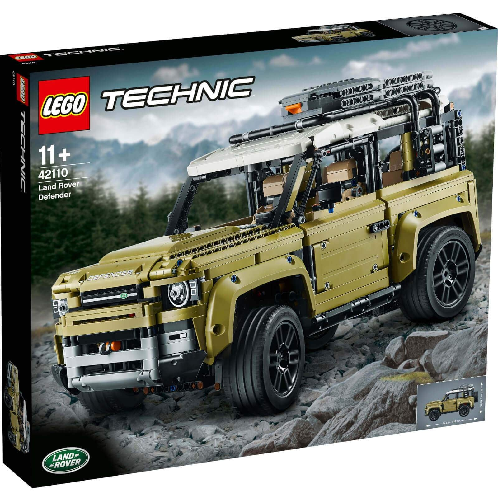 Lego - לגו טכני Technic - 42110 - Land rover - TheBrick.co.il