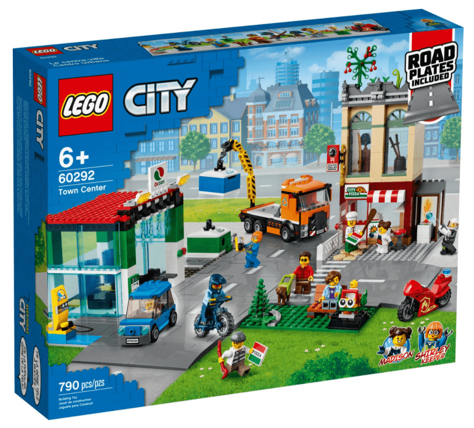 Lego 60292 - Town Center freeshipping - TheBrick.co.il