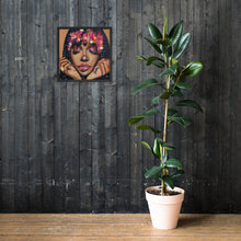 "Load image into Gallery viewer, ""Sza: Brown Skin Girl Collection Framed Prints"
