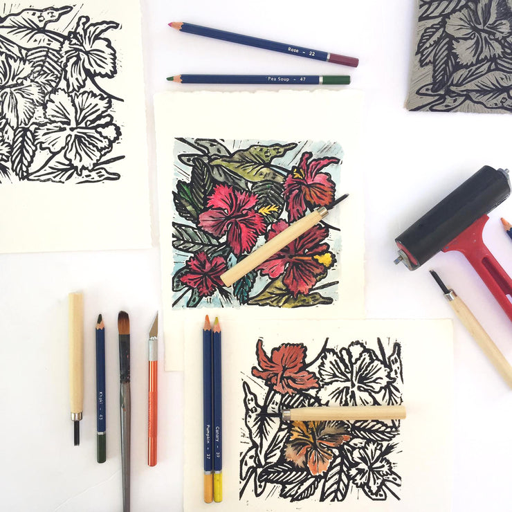 1st & 2nd May - Lino Printing 2 Day Workshop