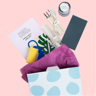 GIFT WRAP/GIFT CARD LINO KIT