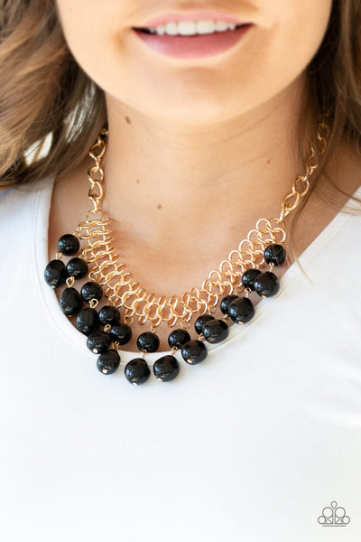 5th Avenue Fleek - Black - Paparazzi Necklace