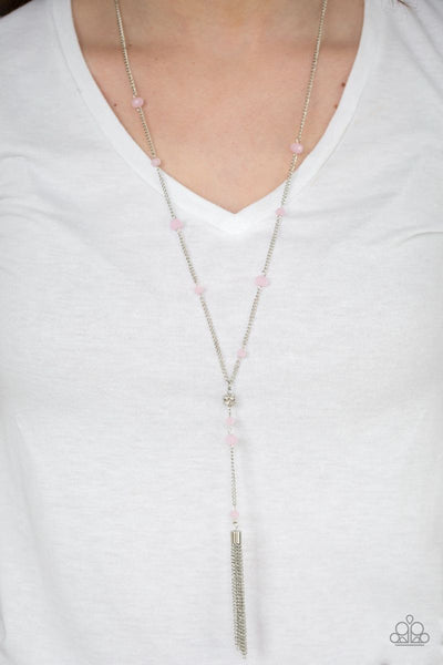 Paparazzi - Out All Night - Pink Necklace #1837 (D)