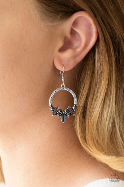 On The Uptrend - Multi - Paparazzi Earrings #1394
