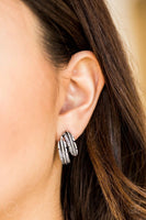 "Paparazzi ""Things QUILL Work Out"" - Silver Clip-on Earrings #2703"