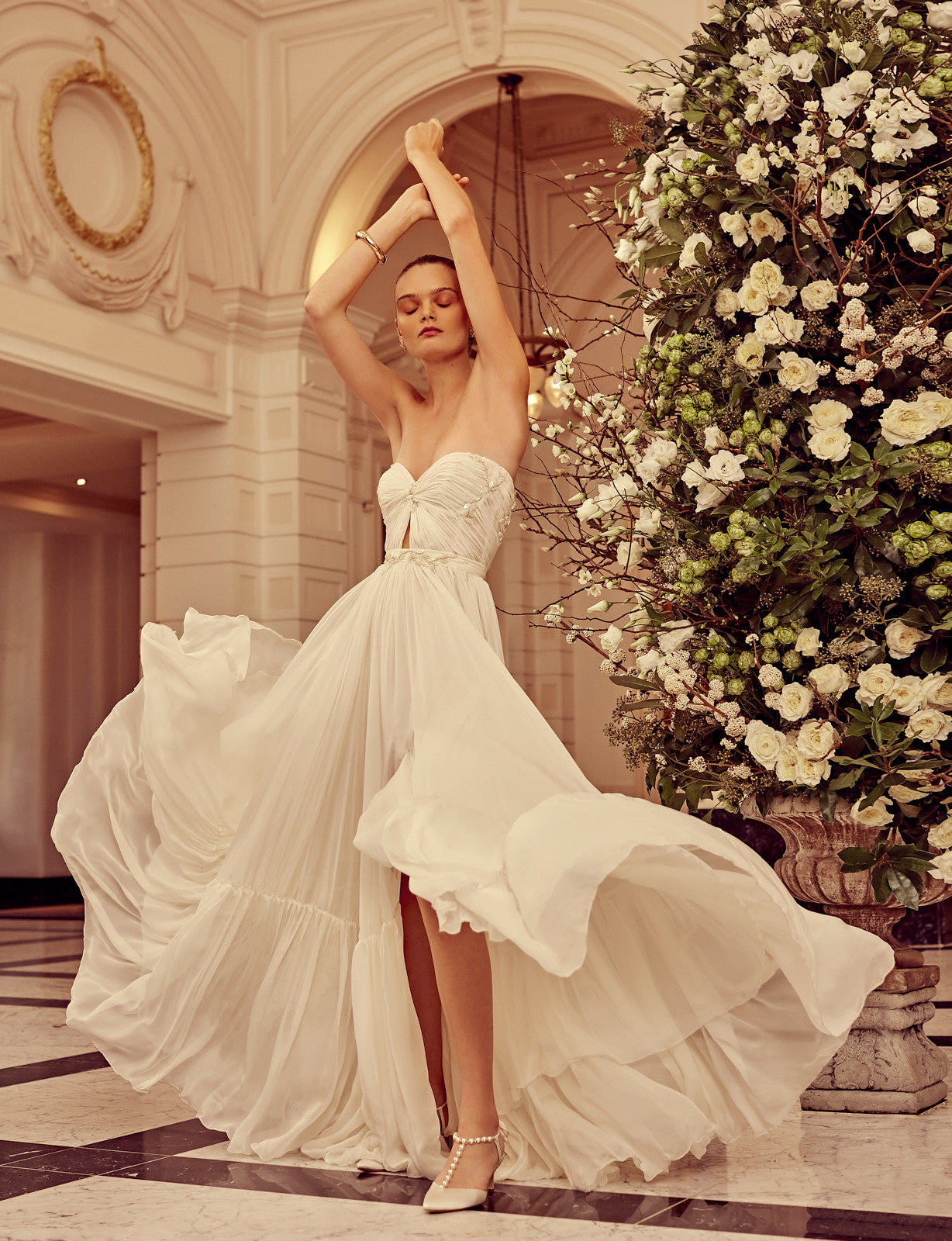 Karin Rom Bridal ASIA wedding gown in Vogue.nl