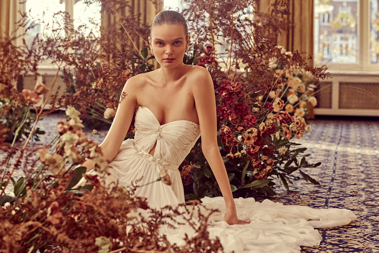 Karin Rom Bridal Co creating your bespoke wedding gown