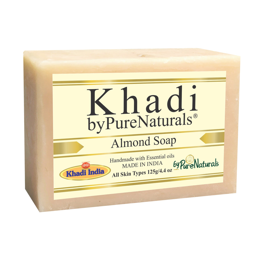 Khadi Almond Soap byPureNaturals