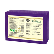 Load image into Gallery viewer, Khadi Lavender Soap byPureNaturals