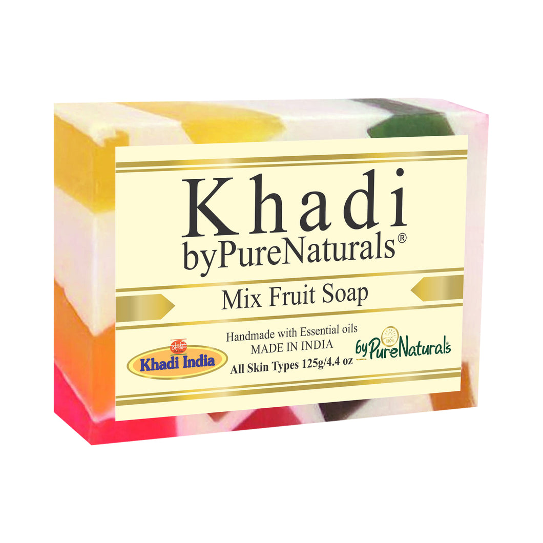 Khadi Mix fruit Soap byPureNaturals
