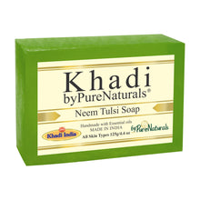 Load image into Gallery viewer, Khadi Neem Tulsi Soap byPureNaturals