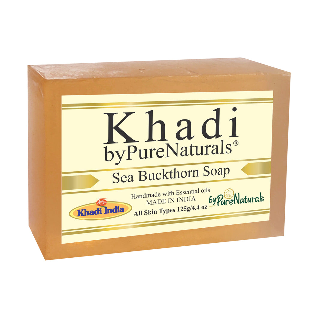 Khadi Sea Buckthorn Soap byPureNaturals