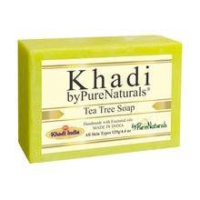 Load image into Gallery viewer, Khadi Tea Tree Soap byPureNaturals