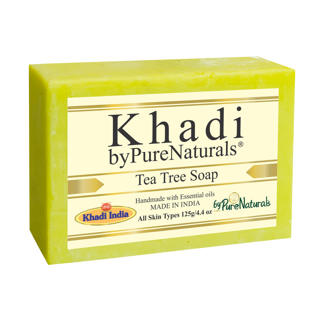 Khadi Tea Tree Soap byPureNaturals
